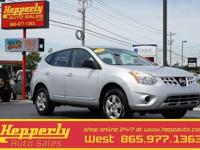 Clean CARFAX. This 2012 Nissan Rogue S in Brilliant