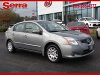Brilliant Silver 2012 Nissan Sentra 2.0 FWD CVT with