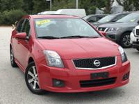 2012 Nissan Sentra 2.0 Red  Clean CARFAX. FOR MORE