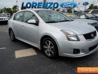 Options:  2012 Nissan Sentra|Silver/|V4 2.0L
