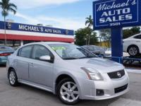 Options:  2012 Nissan Sentra 2.0|Silver|Call Us Now! At
