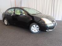 NICE PRE OWNED SENTRA!! GREAT CAR FOR A GREAT PRICE!