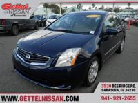 Options:  2012 Nissan Sentra 2.0 S|Blue|One Of The