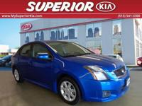 Sentra 2.0 SR. Come to the experts! All the right
