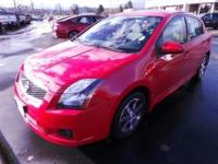 2012 Nissan Sentra SR with factory Special Edition