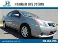 Honda of Bay County presents this 2012 NISSAN SENTRA