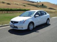 2012 Nissan Sentra 58709 miles White 2012 Nissan