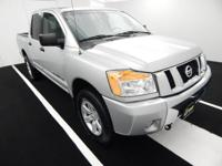 Certified by Legacy! This Titan SV 4x4 is a recent