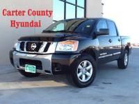 This is a 2012 Nissan Titan that is fresh on the lot!