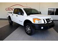We are excited to offer this 2012 Nissan Titan. Drive