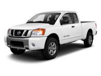 2012 Nissan Titan PRO In Metallic Slate. 4WD. My! My!