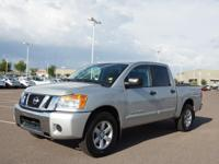 This 2012 Nissan Titan SV is complete with top-features