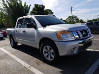 Brilliant Silver 2012 Nissan Titan SV RWD 5-Speed