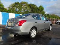 Options:  2012 Nissan Versa S|1.6 S 4Dr Sedan 5M|1.6L|4