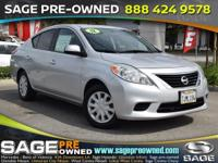 Here's a great deal on a 2012 Nissan Versa! This is a