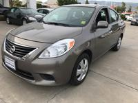 Options:  2012 Nissan Versa Sv|Gray|Here's The