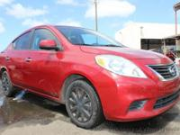 This 2012 Nissan Versa 4dr SV Sedan 4D features a 4-Cyl