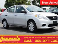Clean CARFAX. This 2012 Nissan Versa 1.6 S in Brilliant