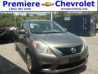 Options:  2012 Nissan Versa Brwn/ V4 1.6L  118872