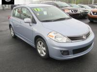 2012 Nissan Versa 1.8 SL Williamsport area. LOCAL