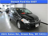 LOCAL TRADE and CLEAN AUTO CHECK. 4D Hatchback. It's