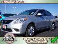2012 Nissan Versa 4dr Car SV Our Location is: Dave