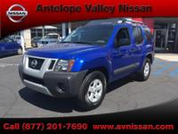 Xterra S, 4.0L V6 DOHC 24V, 5-Speed Automatic, RWD, and