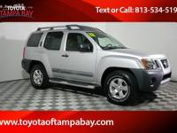Options:  2012 Nissan Xterra S|Silver|Right Suv! Right