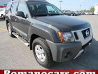 Take command of the road in the 2012 Nissan Xterra!