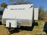2012 North Trail Focus, M-FX23, Travel Trailer, White