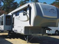 The pre-enjoyed 2012 Open Range Fifth Wheel Model