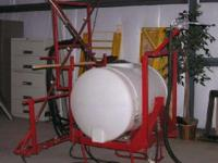 2012 200 Gallon Boom Sprayer, with 2 - 12 lay down arms