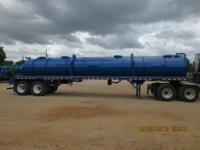 2012 Other Vacuum Trailers Roughneck HD 130 Barrel
