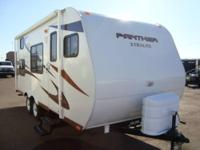2012 Panhter 18XL Xtralite travel trailer. Six sided