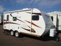 2012 Panther 19 Xtralite travel trailer w/slide-out .