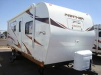 2012 Panther 24RBS WideLite Travel Trailer - half-ton