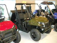 The New 2012 Polaris RANGER 500 EFI is our most