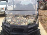 2012 800xp polaris ranger browning addition. Loaded