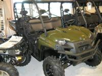 The 2012 Polaris Ranger Crew 800 EPS Polaris Pursuit