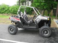 The 2012 RZR XP 4 900 is the newest member of the RZR
