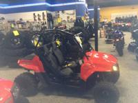 2012 POLARIS RZR 170 WITH 2 HELMETS AND A FLAG. PLEASE