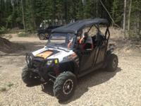 2012 Polaris RZR 4 Seater  800 Robby Gordon Edition