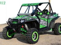 One owner 2012 RZR XP 900 that has 57.5 hours. Full