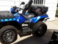 2012 Polaris Special edition ATV 4X4 AWD. It has a