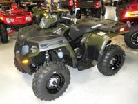 The Sportsman 500 HO features a fully automatic