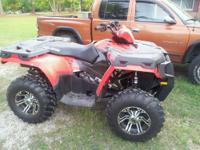 I have a brand new sportsman 800 atv for sale. It has