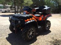 2012 Polaris Sportsman 850 XP Limited Edition Orange