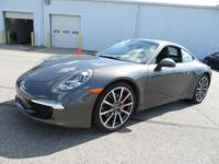 Clean CARFAX. This 2012 Porsche 911 Carrera S in Gray