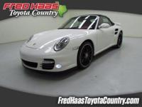 2012 Porsche 911 Turbo Convertible with 12k in