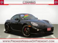 2012 Porsche Cayman Black Edition RWD 6 Speed Manual